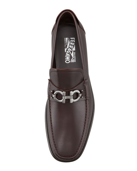 Gancini Loafer, Brown