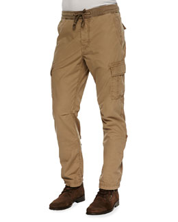 7 For All Mankind Weekend Cargo Pants, Tan