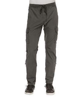 7 For All Mankind Weekend Cargo Pants, Heather Gray