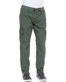 7 For All Mankind Weekend Cargo Pants, Green