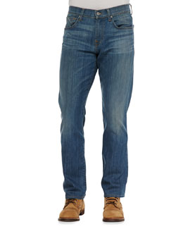 7 For All Mankind Carsen LA Light Indigo Jeans