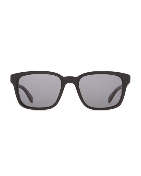 Wyler 54 Oversized Sunglasses, Brown