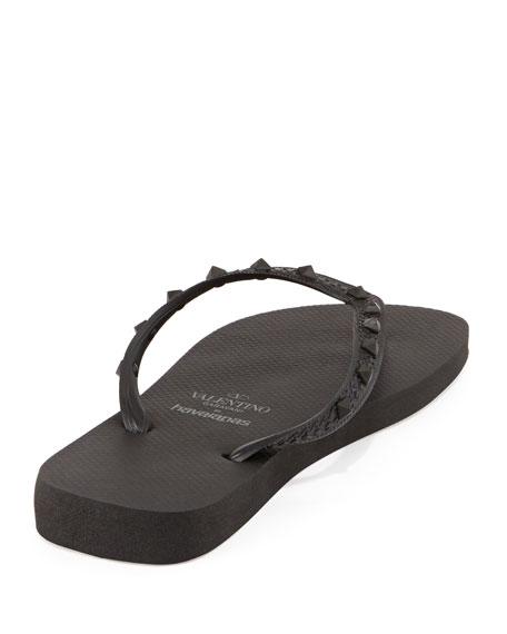 53828f82fafbf by Havaianas Rockstud Flip Flop Black