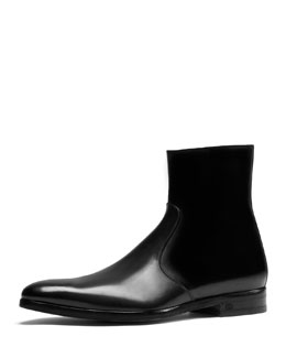 Leather Dress Boot, Draft