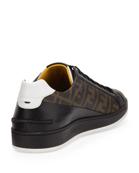 a740a3c3 Men's Zucca-Print Low-Top Sneaker Tobacco