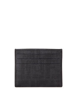 Fendi Men's Logo Credit Card Case, Black