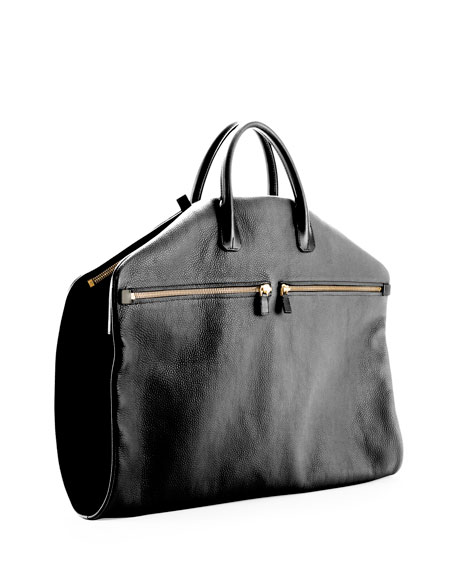 Tom Ford Buckle Soft Garment Bag Black