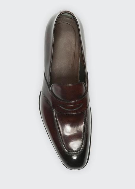 Charles Penny Loafer, Dark Brown