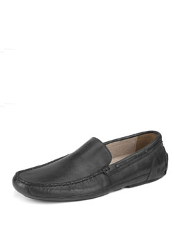 Empire Leather Loafer, Black