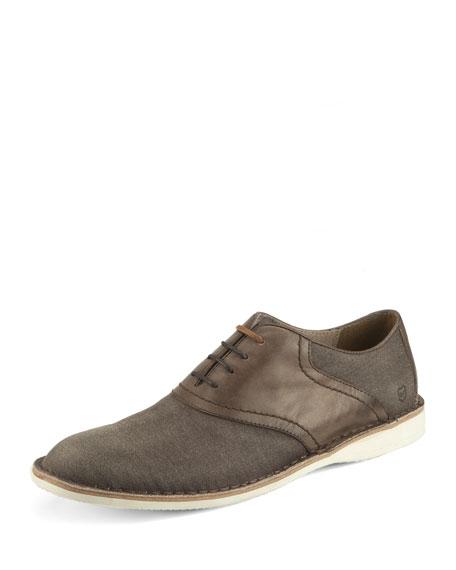Andrew Marc Dorchester Saddle Shoe, Light Brown