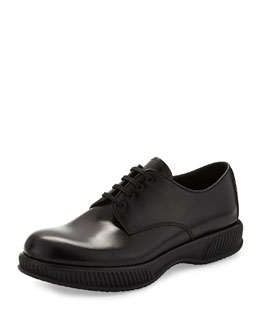 Chunky Ridged-Sole Lace-Up