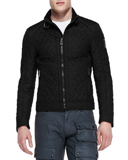 Belstaff Bramley Quilted Jacket, Black
