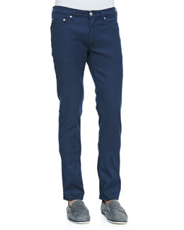 Vega Skinny Jeans, Teal Blue
