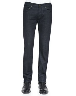 Dark Indigo Selvedge Denim Jeans