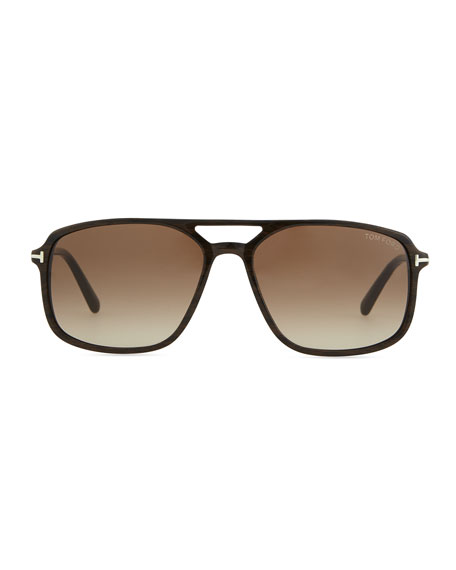 Terry Acetate Sunglasses, Brown