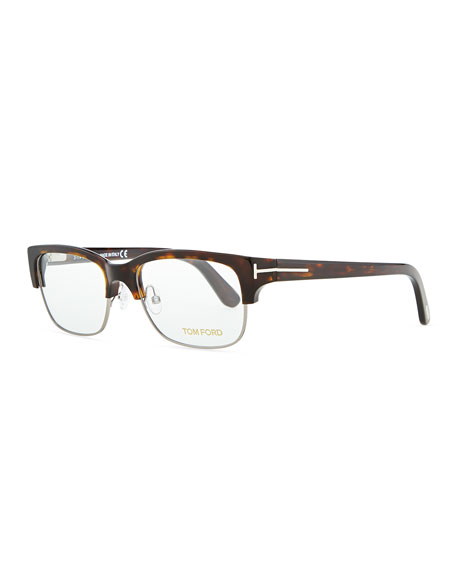 tom ford optical wire frame glasses brown - Wire Frame Glasses
