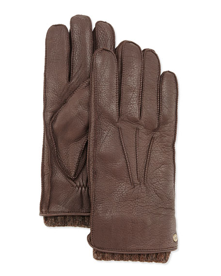 UGG Australia Men's 2-in-1 Whipstitch Gloves