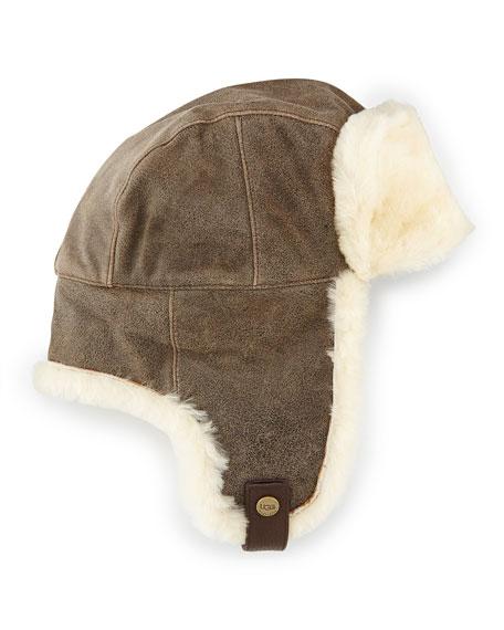 bc05b8a33dca6 UGG Australia Shearling Trapper Hat