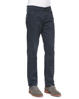 J Brand Jeans Kane Straight-Leg Harbour Blue Jeans