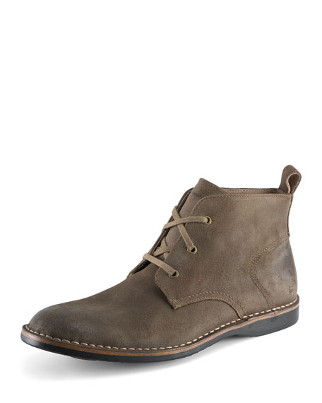 Andrew Marc Dorchester Suede Chukka Boot, Tan