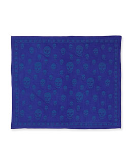 Men's Skull Devore Scarf