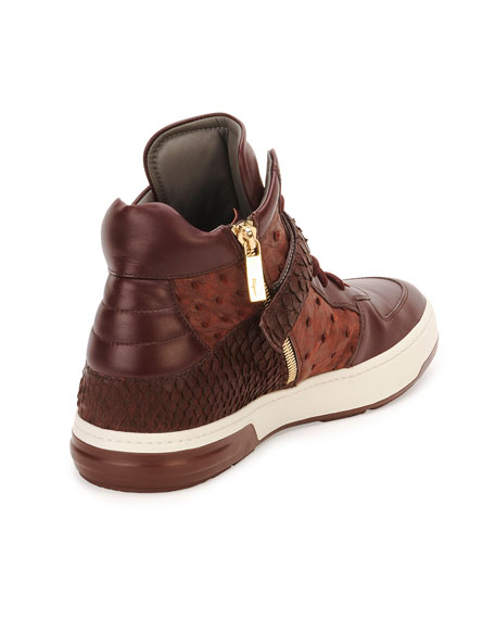 Nayon Men's Exotic High-Top Sneaker