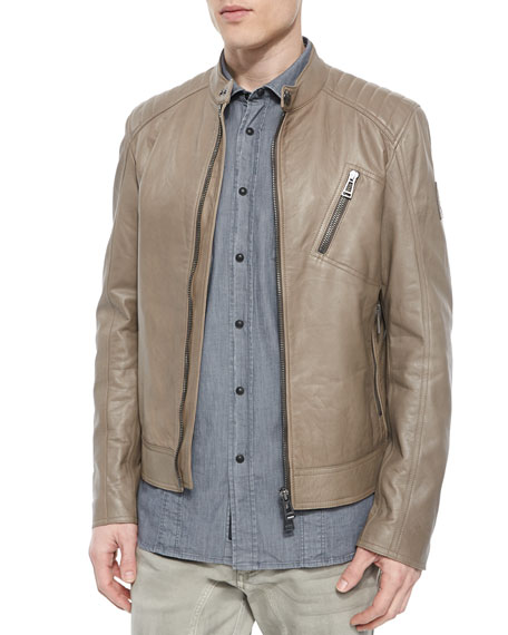 Belstaff K Racer Leather Blouson Jacket