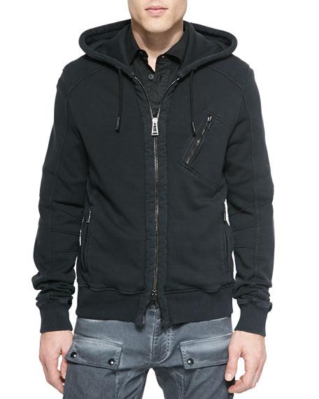 6038cce95ecb Belstaff Headley Zip-Up Hoodie Jacket