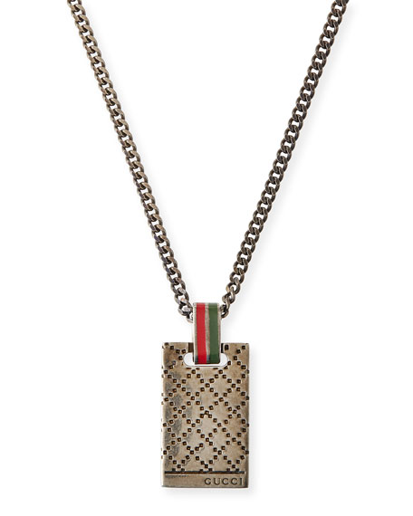 Gucci Men's Diamantissima Necklace