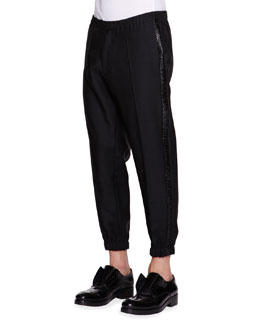 Evening Jogging Pants, Black