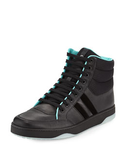 Combo High-Top Sneaker, Black