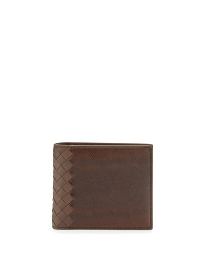 Karung Bi-Fold Wallet, Brown