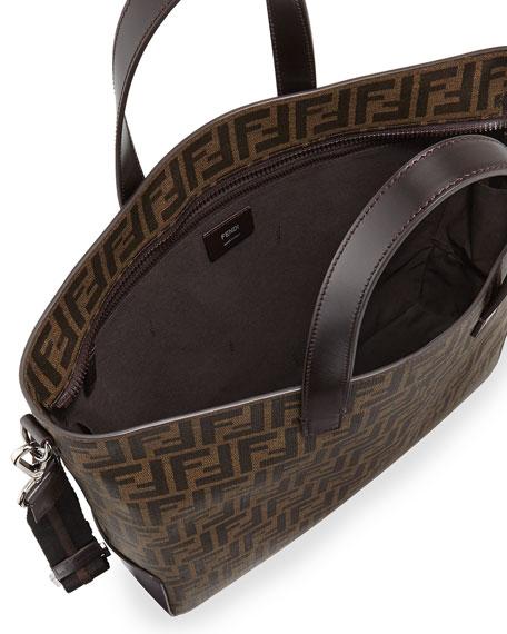 07e63c22d3f5 Fendi Men s Zucca Canvas Tote Bag
