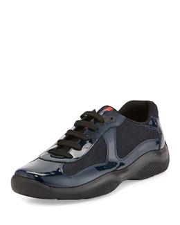 America's Cup Patent Sneaker, Blue