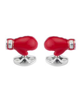Boxing Glove Cuff Links
