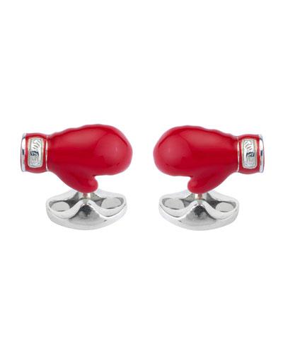 Boxing Glove Cuff Links