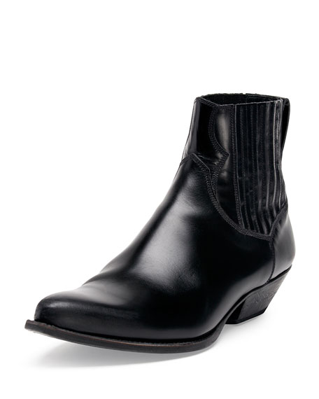 low boots - Black Saint Laurent 2yP0lxly