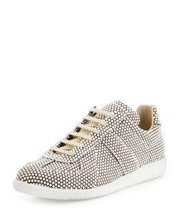 Replica Dotted Low-Top Sneaker