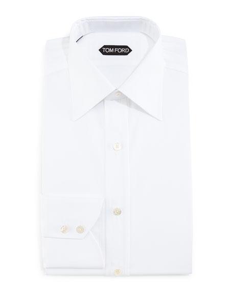 Slim-Fit Dress Shirt, White