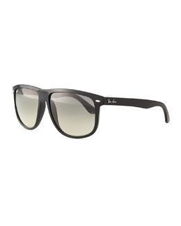Ray-Ban Flat-Top Gradient Sunglasses, Black