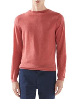Cashmere Sweater, Salmon