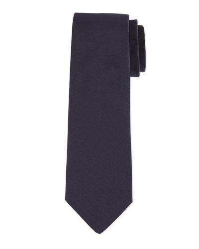 Grosgrain Solid Tie, Navy