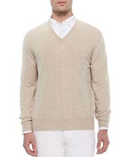 Baby Cashmere V-Neck Sweater