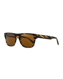 Strathmore VFX+ Polarized Square Sunglasses, Coco