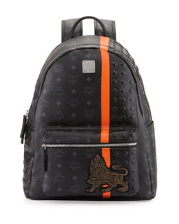 Munich Logo Backpack, Black