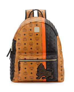 Munich Logo Backpack, Cognac