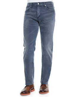 Core Slim Straight Gray Skies Jeans, Light Indigo