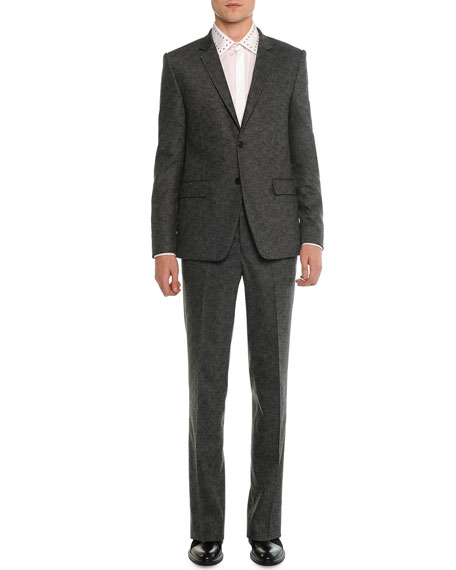 Two-Button Suit, Charcoal