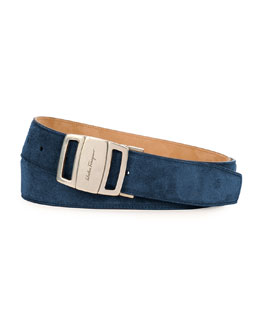 Sardegna Adjustable Belt, Blue