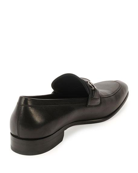 Calf Leather Loafer, Black